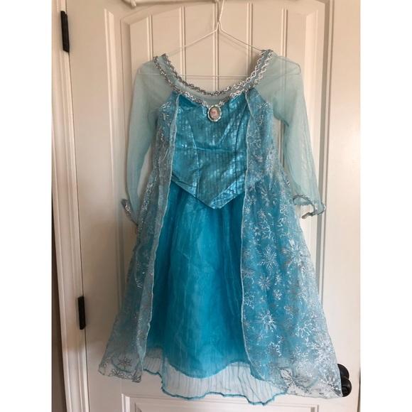 56eb4f7d401e04 Disney Costumes   Authentic Frozen Elsa Costume Dress   Poshmark